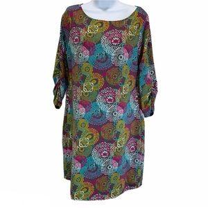 Soybu Floral Athletic Sheath Stretchy Dress